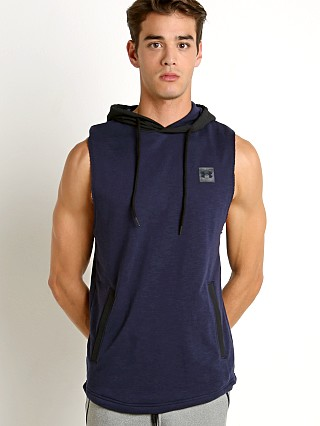 Under Armour Sportstyle Sleeveless Hoodie Midnight/Black