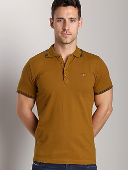 Diesel T-Nyx Polo Shirt Deep Wood