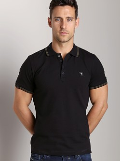 Diesel T-Nyx Polo Shirt Black