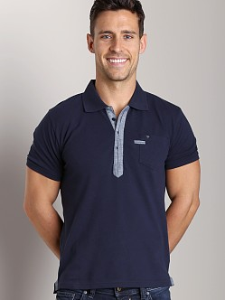 Diesel T-Admiral Polo Shirt Midnight
