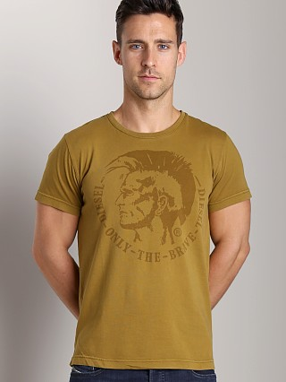 Diesel T-Achel T-Shirt Deep Wood