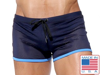 Rufskin Ace Super Mesh Swim Trunk Navy/Sky