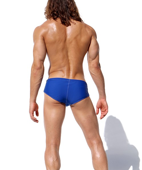 Rufskin Team Logo Side Tie Swim Brief Blue