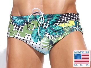 Rufskin Zuberi Print Swim Sunga Brief