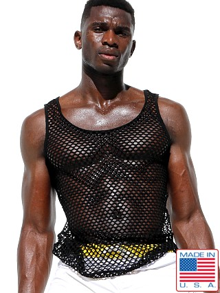 Rufskin Nono Stretch Mesh Tank Black