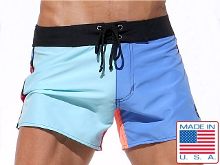 Rufskin Malibu Microfiber Swim Shorts Multi-Colored