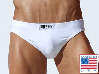 Rufskin Arfan Flesh Mesh Peek Back Brief White