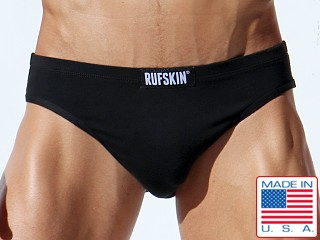 Rufskin Arfan Flesh Mesh Peek Back Brief Black