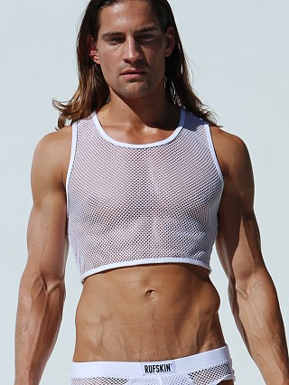 You may also like: Rufskin Aziz Torso Cropped Mesh Tank Top White