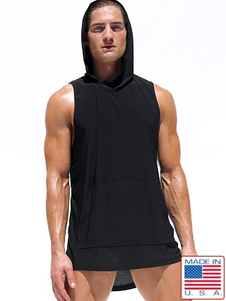 Rufskin Guru Sleeveless Hoody Black
