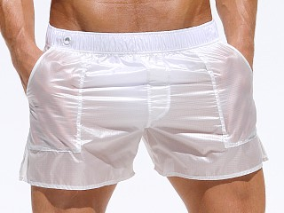 You may also like: Rufskin Nuage Translucent Nylon Pocket Shorts White