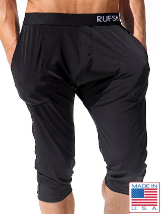 Rufskin Zen Stretch Jersey 3/4 Yoga Pant Black