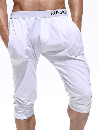 Rufskin Zen Stretch Jersey 3/4 Yoga Pant White