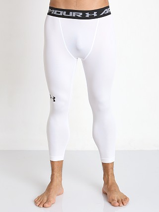 Under Armour Heatgear 3/4 Compression Legging White