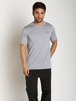 Under Armour Tech V-Neck Shortsleeve Tee Steel