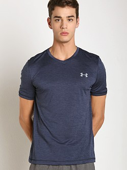 Under Armour Tech V-Neck Shortsleeve Tee Midnight Navy
