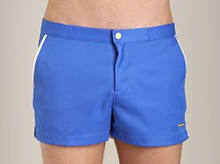 Parke and Ronen Angeleno Solid Swim Short Houston Royal