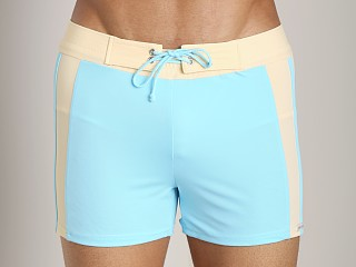 You may also like: Sauvage SoBe Side Stripe Swim Trunk Aqua