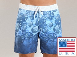 Sauvage Italian Nylon Tropical Board Shorts Underwater