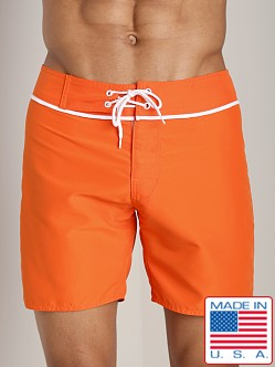 Sauvage San Diego Slim Fit Board Short Tangerine