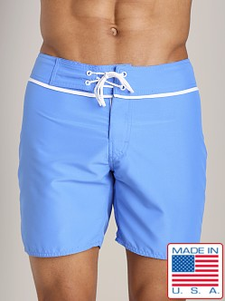 Sauvage San Diego Slim Fit Board Short French Blue
