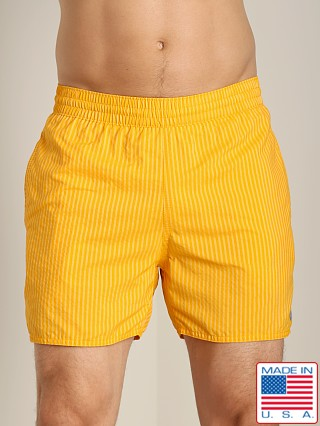 Sauvage Seersucker Nylon Euro Beach Short Orange