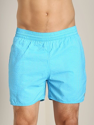 You may also like: Sauvage Seersucker Nylon Euro Beach Short Aqua