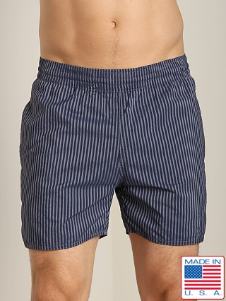 Sauvage Seersucker Nylon Euro Beach Short Midnight