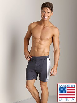 Sauvage Lined Performance Shorts Grey/White
