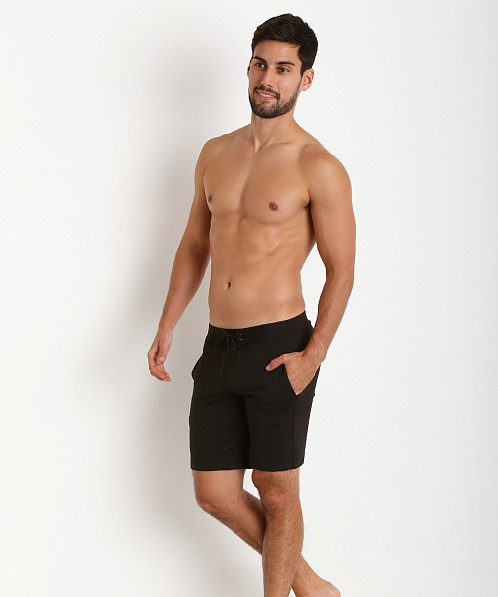 Sauvage Surf Style Workout Short Black