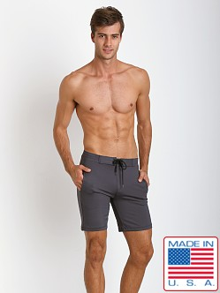 Sauvage Surf Style Workout Short Grey