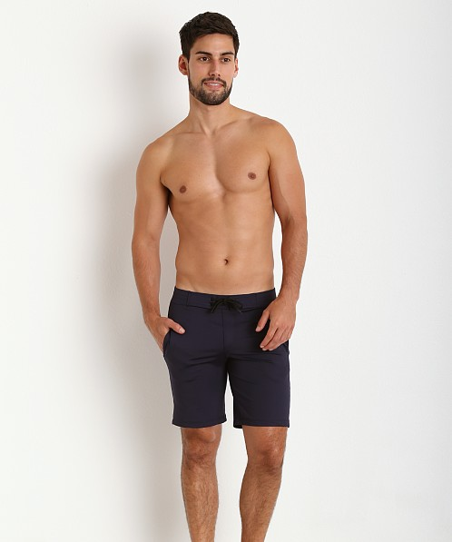 Sauvage Surf Style Workout Short Navy