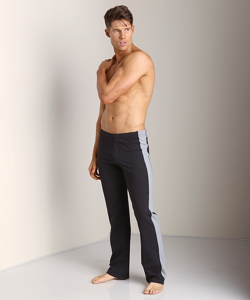 Sauvage Tactel Sidestripe Workout Pants Black