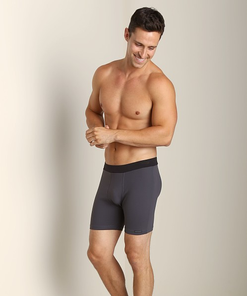 Sauvage Tactel Banded Contour Short Slate