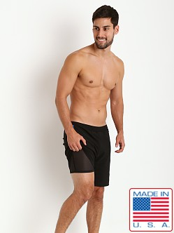 Sauvage Soft Touch Fitted Short Black/Royal