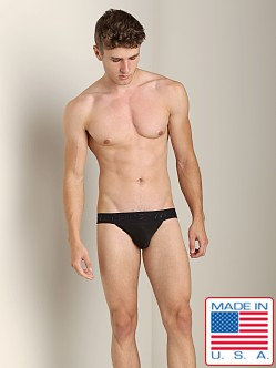 N2N Luxe Sports Brief Black