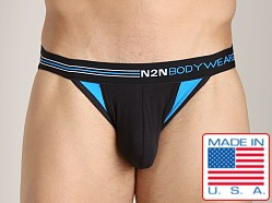 N2N Signature Sports Brief Black