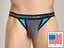 N2N Signature Sports Brief Grey