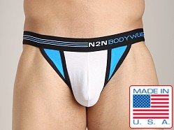 N2N Signature Thong White