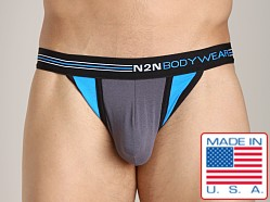 N2N Signature Thong Grey