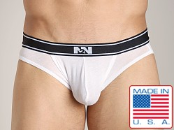 N2N Classic Cotton Pouch Brief White