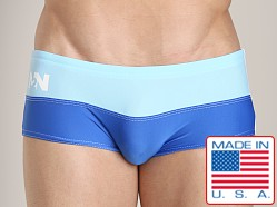 N2N Falcon Square Cut Swimmer Blue