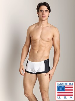N2N Compete Swim Trunk Snow White