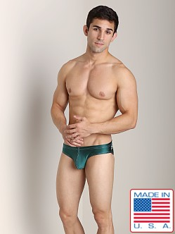 N2N X-treme Enhancing Swim Brief Hunter Green