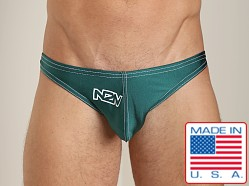 N2N X-treme Enhancing Swim Thong Hunter Green
