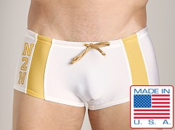 N2N University Swim Trunk White