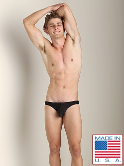 N2N Maverick C-Ring Low Cut Swim Brief Black