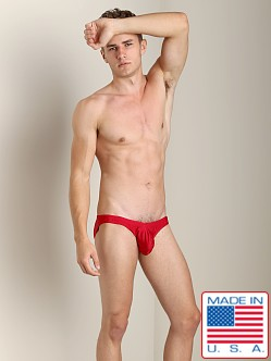 N2N Maverick C-Ring Low Cut Swim Brief Red
