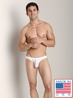 N2N Maverick C-Ring Low Cut Swim Brief White