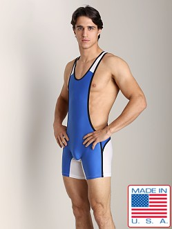 N2N Stealth Sport Singlet Royal